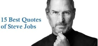 15 Best Quotes of Steve Jobs