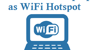How to use Laptop as WiFi Hotspot