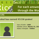 Vocabulary Game that Gives Free Rice to Hungry People