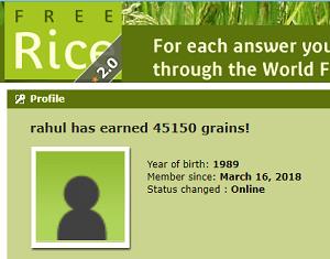 Free rice site score