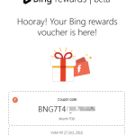 Earn Freecharge Recharge Coupons When you Search on Microsoft Bing.com
