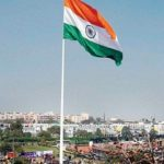 Tallest Tricolor Indian Flag is on 293 foot high pole