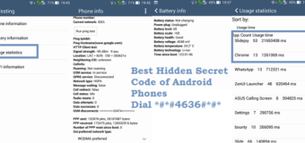 Best Secret Code of Android OS Dial *#*#4636#*#*