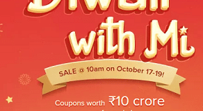 Diwali with Mi Play Games and Win Gifts and Vouchers from Mi