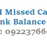 SBH Missed Call Bank Balance Dial 09223766666 to Know Details