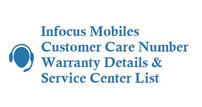 Infocus Customer Care Number Toll Free Number 18002588110 Warranty Service Center Details