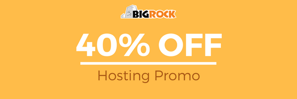 Bigrock web hosting coupons