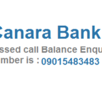 Dial 09015483483 to Get Balance Details of Canara Bank Account