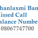 Dhanlaxmi Bank Missed Call Balance Number and Mini Statement Details