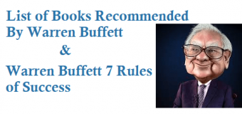 List of Books Recommended By Warren Buffett