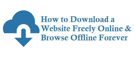 How to download a website online free software