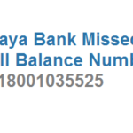 Vijaya Bank Missed Call Balance Enquiry Number