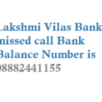 Lakshmi Vilas Bank Missed Call Balance Number Mini Statement Number Activation Details