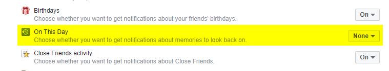 How to Turn Off On This Day Memory Notification on Facebook