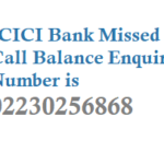 ICICI Missed Call Balance Enquiry Number Mini Statement Activation and Other Details