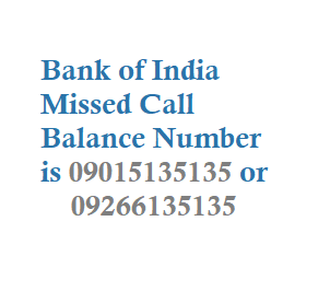 Bank of India Missed Call Balance Number Mini Statement Number and Customer  Care Numbers - TechAccent