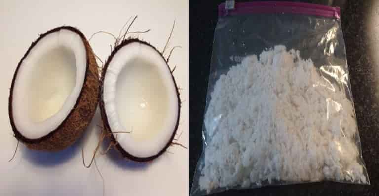 Keep Coconut fresh by freezing