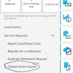 How to Order Citibank Cheque Book Online and on Citi Mobile App