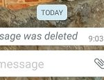 How to Check Deleted Whatsapp Message