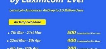 India's first Digital Currency Laxmicoin Launched, Sign up to get free Laxmicoin