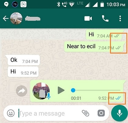 How to Know Whether your Whatsapp Message Have Read
