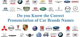 Do you Know the Correct Pronunciation of Car Brands Names