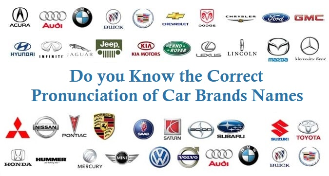 Do You Know The Correct Pronunciation Of Car Brands Names Techaccent