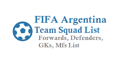 FIFA Argentina Team Squad