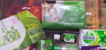 Get Free Dettol and Mom kit from Lybrate