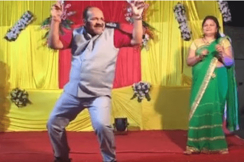 Sanjeev Srivastava - Dancing Uncle