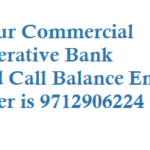Kalupur Commercial Co-operative Bank Missed Call Balance Enquiry Number Mini Statement Number