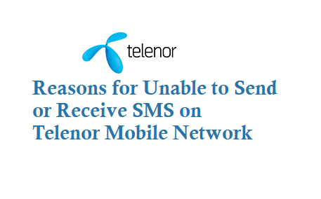 Unable to Send SMS from Telenor