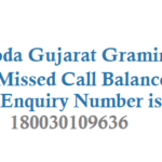 Baroda Gujarat Gramin Bank Missed Call Balance Enquiry Number and Customer Care Number