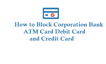 Block Corporation Bank ATM Card