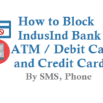How to Block IndusInd Bank ATM Card Debit Card Credit Card