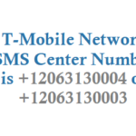 T-Mobile SMS Center Number For Sending and Receiving SMS and MMS
