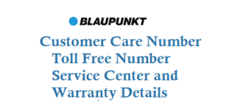 Blaupunkt Customer Care Number Toll Free Number Service Center and Warranty Details