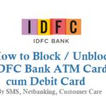 How to Block Tamilnad Mercantile Bank ATM Card Debit Card