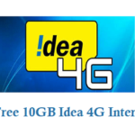 How to Get Free 10GB Idea 4G Internet Mobile Data