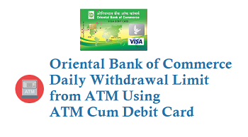 OBC Daily Withdrawal Limit