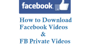 How to Download Facebook Videos and FB Private Videos for Free
