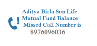 Aditya Birla Mutual Fund Balance by Miss Call and Folio Valuation Details Account Statement