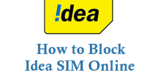 How to Block Idea SIM