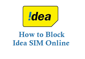 how to block idea sim online lost sim