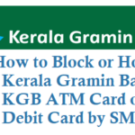 How to Block Kerala Gramin Bank KGB ATM Card Debit Card