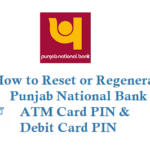 How to Reset PNB ATM PIN Debit Card PIN