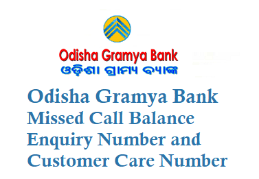 Odisha Gramya Bank OGB Missed Call Balance Enquiry Number 8448290045