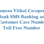 Shamrao Vithal Co-operative Bank SMS Banking Customer Care Toll Free Number