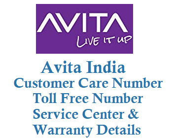 avita customer care number toll free number 1800223902 service center and warranty details