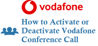 How to Activate Deactivate Vodafone Idea Conference Call